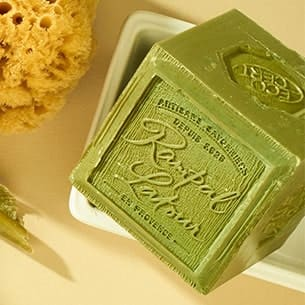 Authentic Marseille soap - Rampal Latour soap factory