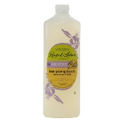 Organic certified shower-shampoo, with olive oil