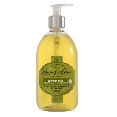 Gentle liquid soap, with olive oil