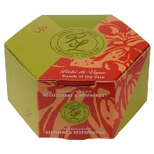 Perfume gentle soap, with grape seed oil