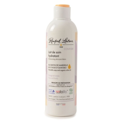 Certified organic confort moisturising lotion