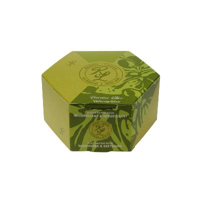 Perfumed gentle soap, with organic olive oil