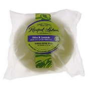 Perfumed gentle soap, with olive oil