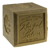Original Marseille soap with olive oil, naturally rich in glycerin