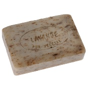 Perfumed gentle soaps, with lavender essential oil