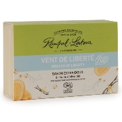 "Organic certified very gentle soap, ""Breath of liberty"